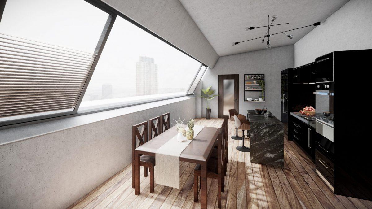Küche 3d architektur