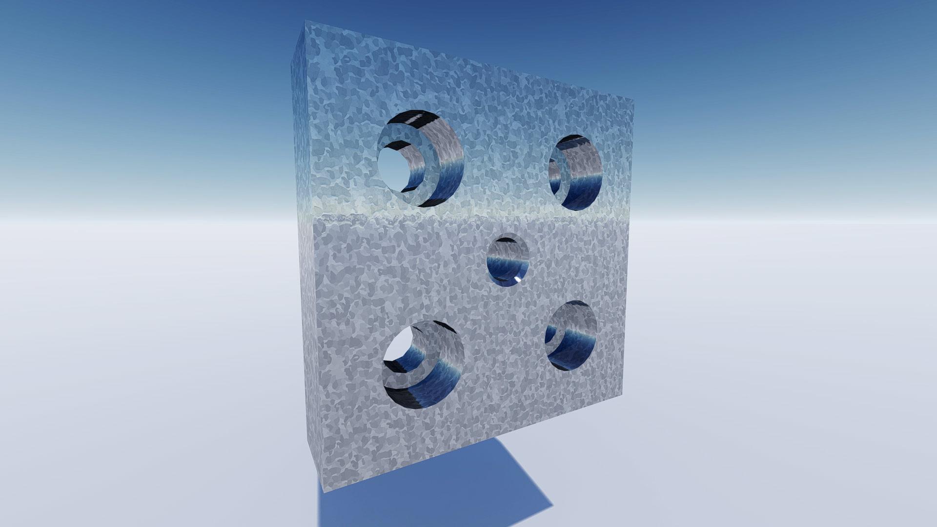 cnc bauteil 3d visualisierung