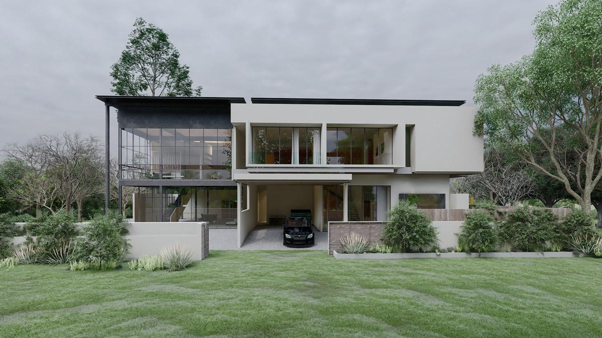 immobilen architektur visualisierung
