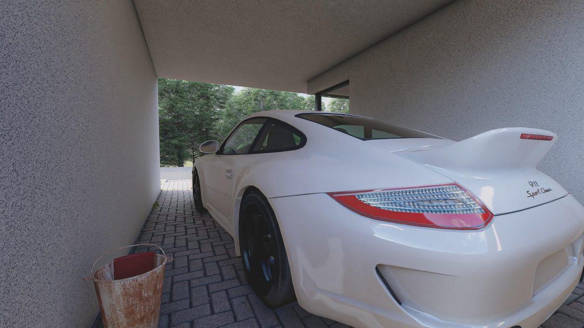 exterior rendering pkw